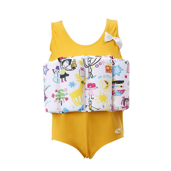 FEITONG Kids Baby Girls Letter One Piece Swimsuit