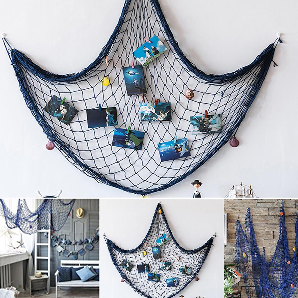 Nautical Decorative Fishing Sea Theme Fish Net Decor for Wall  Decoration buy at a low prices on Joom e commerce platform