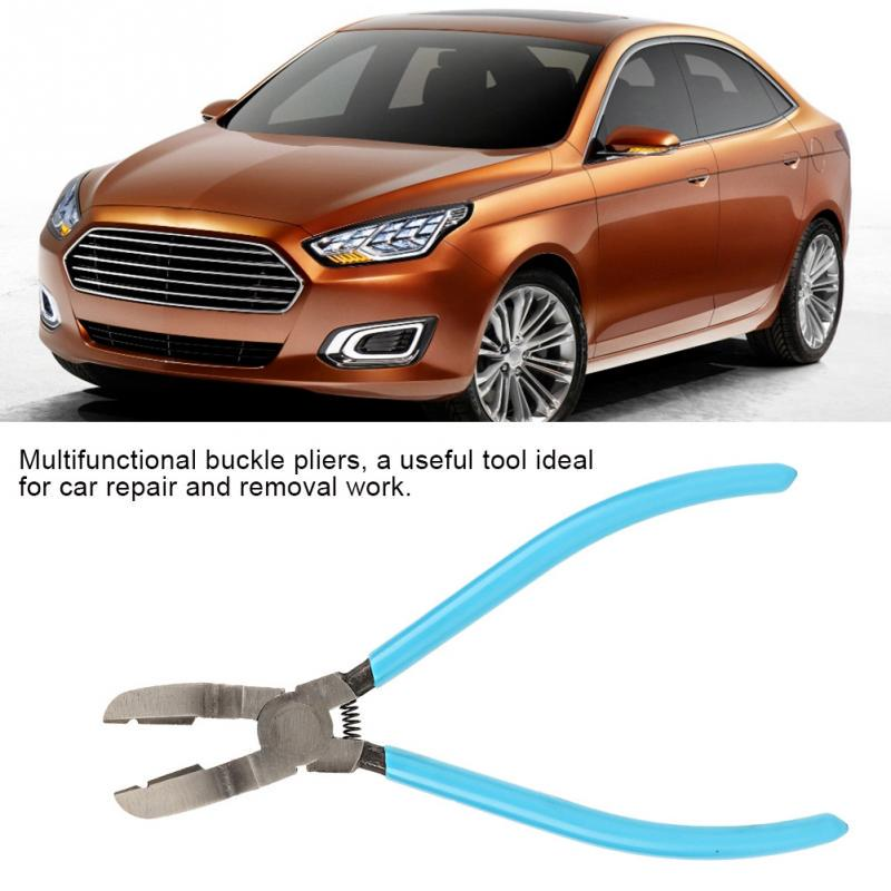Mutipurpose Diagonal Plier Car Rivet Thrust Fixer Fastener Tool Holder Puller