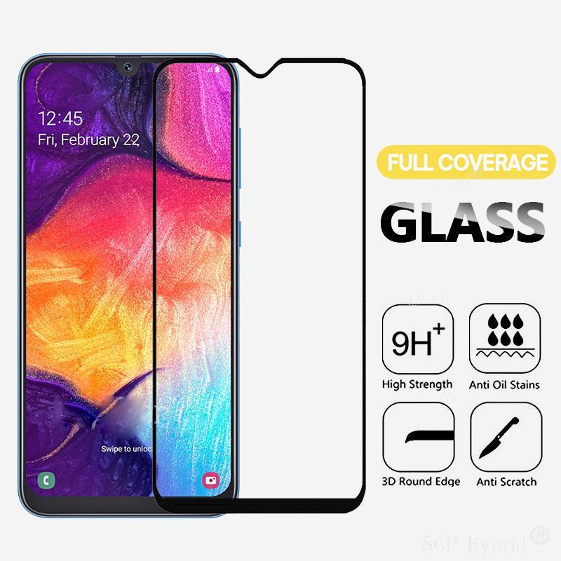 Закаленный стеклянный экран Протектор фильм для Huawei P Smart Samsung A30 A50 iPhone 11 Xiaomi Премиум Стеклянный экран Обложка фото