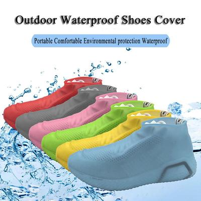 Silicone Overshoes Rain Waterproof Shoe Covers Boot Cover Protector Anti-Slip