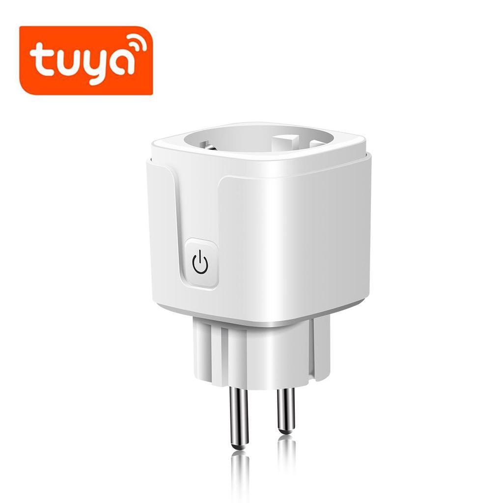 Tuya Smart Life Smart Plug Adapter Wifi Smart Socket 2 4g 16a Phone App Voice Control Socket Outlet Work With Alexa Google Home Buy From 11 On Joom E Commerce Platform