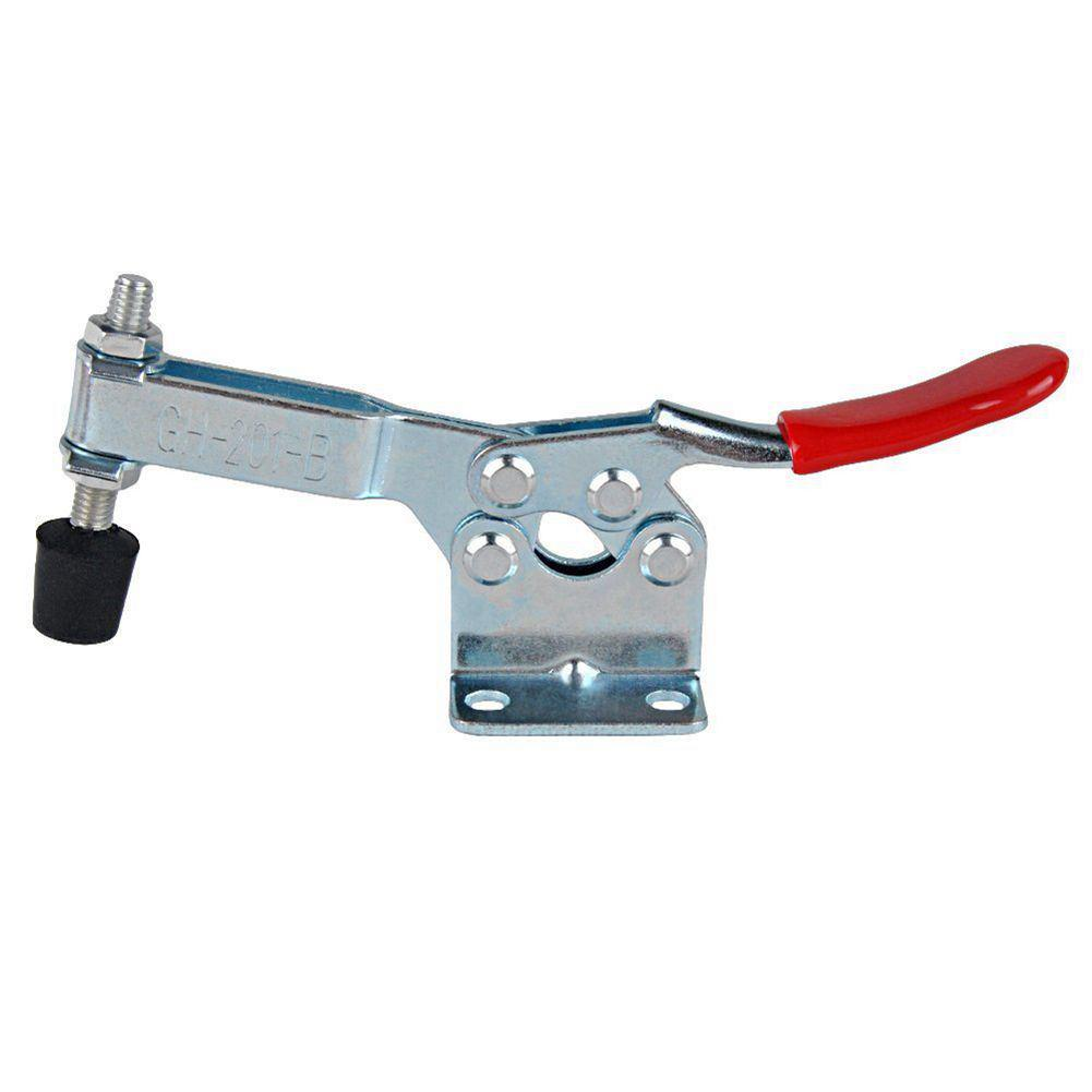 Toggle Clamp Set of 4 Quick Release 90 kg Holding Capacity Non-Slip Toggle Clamp Horizontal Quick Release Robust