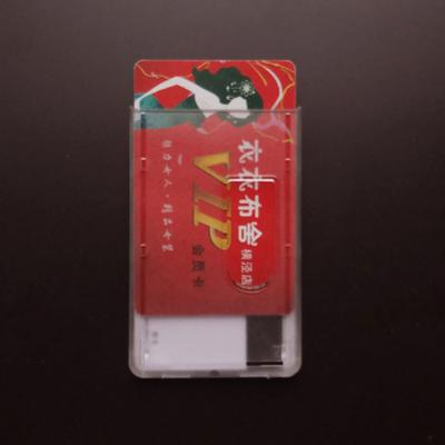 Aluminum Alloy Business Work Card ID Badge Lanyard Holder Hot Vertical Metal NE8
