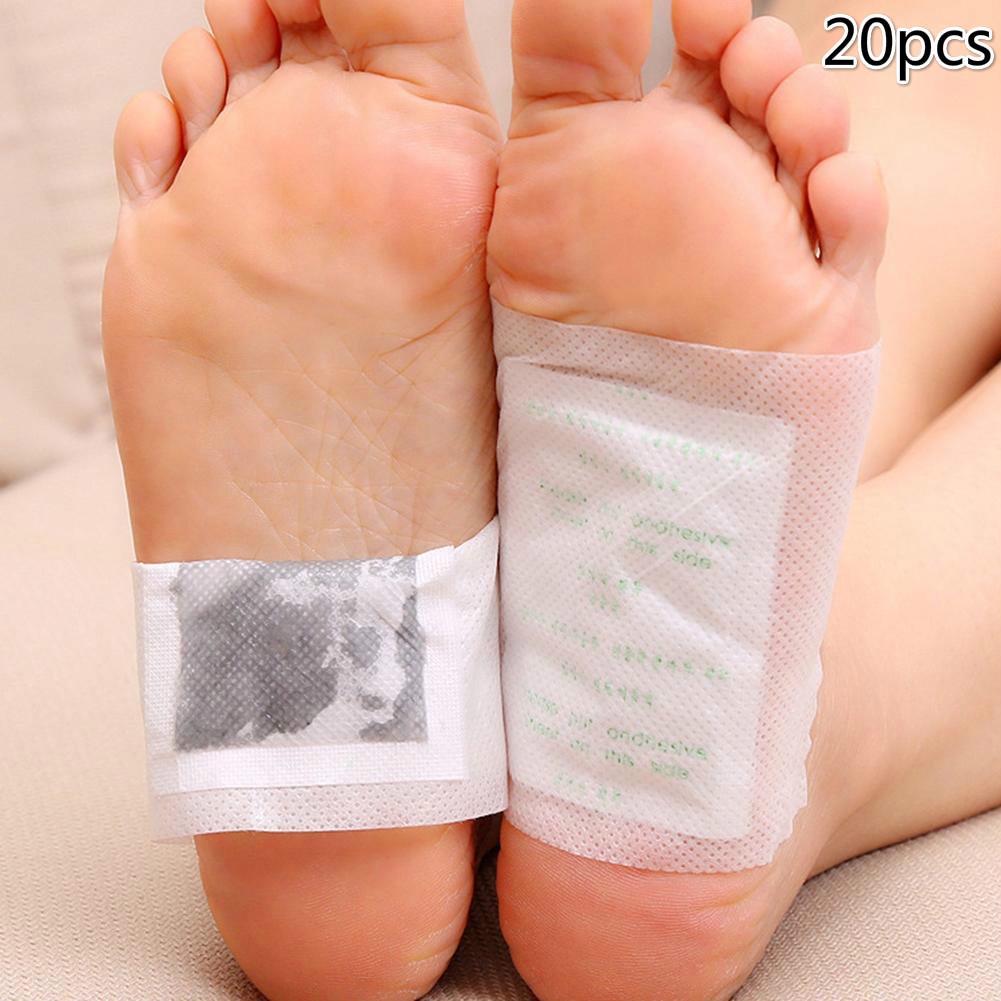 Allemed Plasturi hidrogel pentru picioare obosite 10 cm x 12 cm 2 bucati