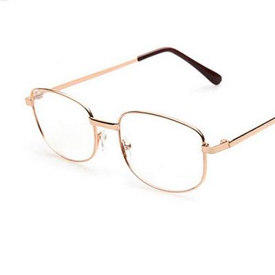 36c1932dc47 Fashion Bifocal Lens Rimmed Men s Reading Glasses Gold Metal Frame ...