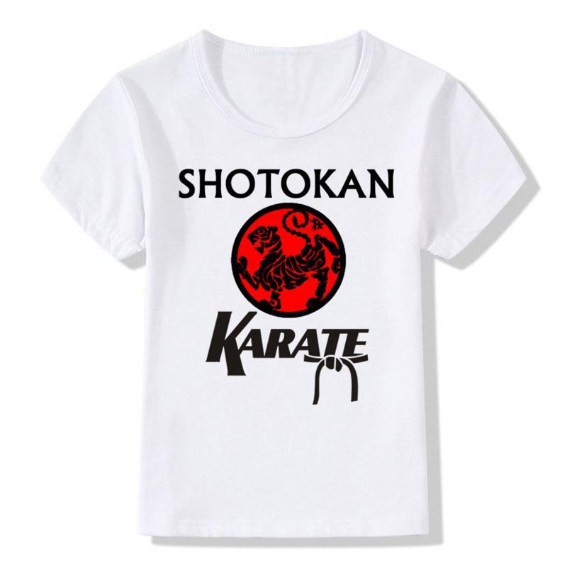 73a77db6 Boys&Girls Print Japanese Kanji Shotokan Karate T-shirt Children T Shirt  Kids Tops Baby Clothes-buy at a low prices on Joom e-commerce platform