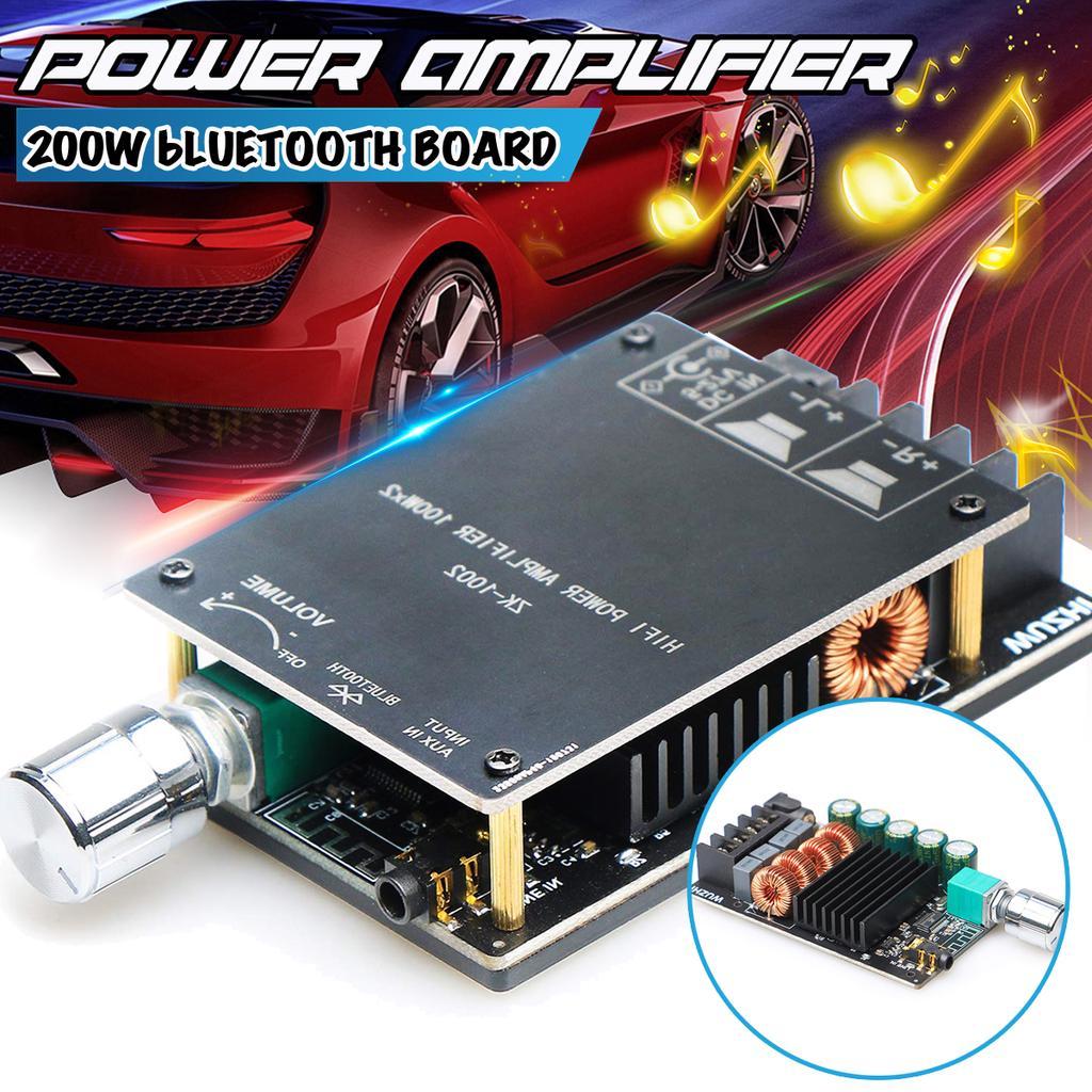 TPA3116 Bluetooth 5.0 Высокомощный цифровой усилитель Stereo Board 200W AMP Amplificador Аудио театр – купить по низким ценам в интернет-магазине Joom