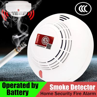 Smart Smoke Detector Home Security Fire Alarm Sensor System Battery Operated  !