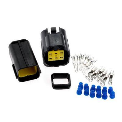 1 Kit 6 Pin Weg wasserdichte Kabel Stecker Stecker Auto Auto ...
