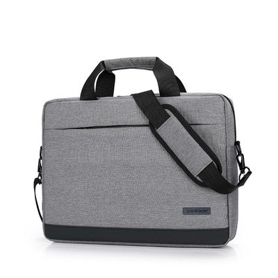 c926e7d43419 Fashion Simple Solid Color Zipper Computer Bag Waterproof Breathable High  Capacity Briefcase Handbag