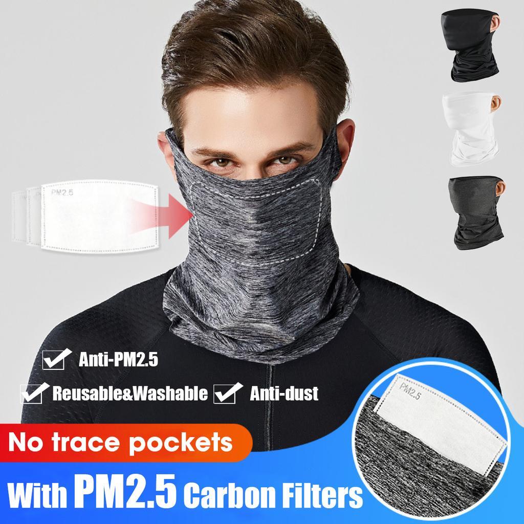 2pcs 3D anime digital printing outdoor dustproof headscarf multifunctional Scarf
