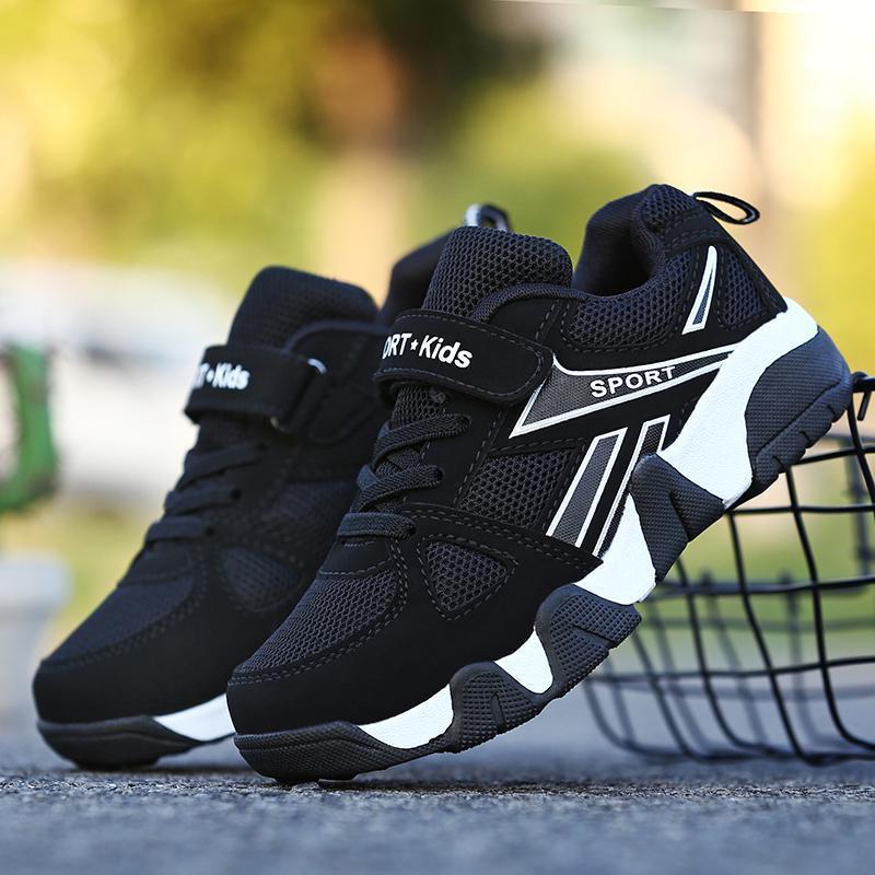 Kisd Boys Mesh Sports Running Shoes Girls Soft Walking Shoes School shoes