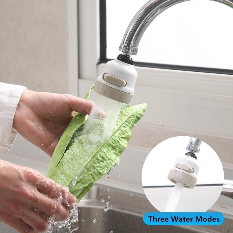 Трехскоростная регулировка, вращающийся на 360 градусов, усилитель смесителя, кухонный кран, фильтр для воды, насадка, экономия воды – купить по низким ценам в интернет-магазине Joom
