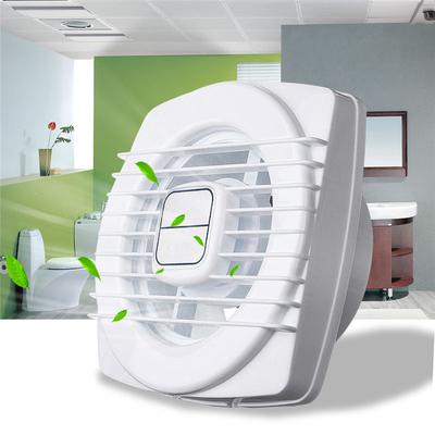 Conducto aire redondo extractor presión ABS para el inodoro baño pared ventana