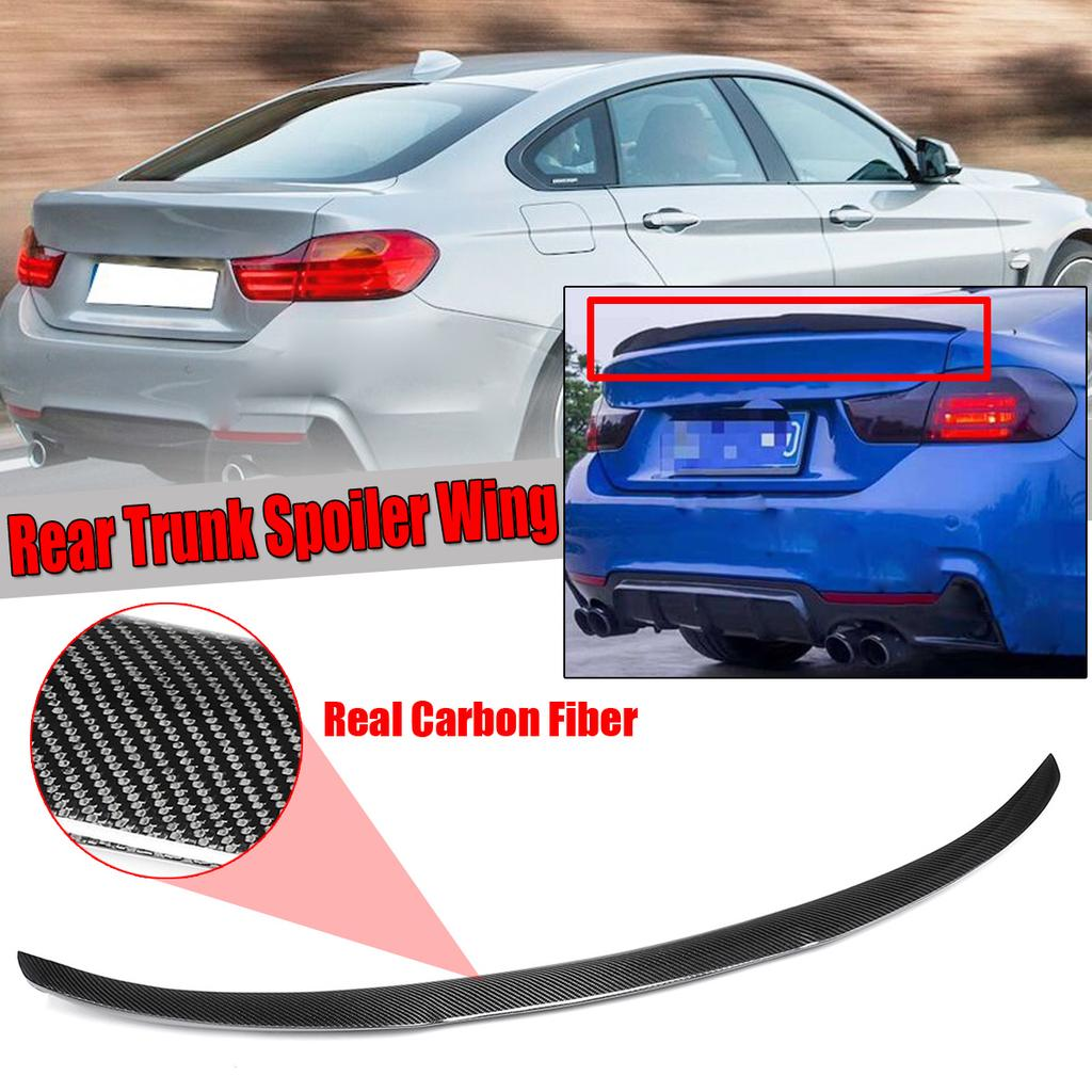 4 SERIES F82 M4 COUPE PERFORMANCE REAR TRUNK BOOT SPOILER GLOSS BLACK 14+