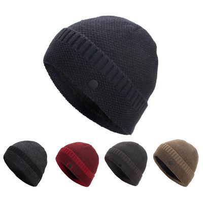 ccd6d26bef0 Women Men Warm Baggy Weave Crochet Winter Wool Knit Ski Beanie Skull Caps  Hat