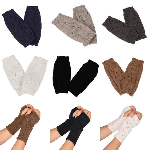 Hilados de tejer Crochet invierno rama patrón mujeres acrílico hueco ...