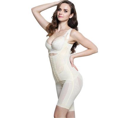 bb1039b74 Women Shapewear Tummy Control Bodysuit Body Shaper Seamless Open Bust  Slimmer
