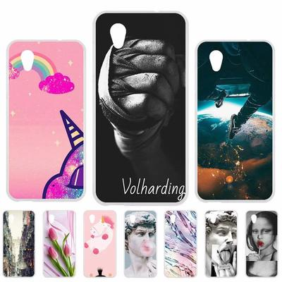 TPU Cases For Ulefone S8 F1 F2 Case Silicone Floral Painted Bumper For Ulefone Armor 6 7 Mix 2 Power 3S A5 A7 Pro Phone Cover Soft Back Fundas