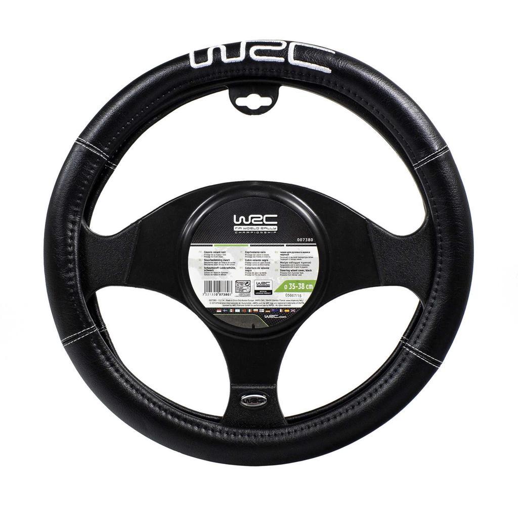 WRC 007381 car Steering Wheel Cover