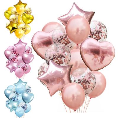 Gold Sliver Metallic Latex Balloons Girl Boy Star Letter Foil Balloon Wedding Birthday Party Decorations Baby Shower Air Globos Cheap Sales 50% Event & Party Back To Search Resultshome & Garden