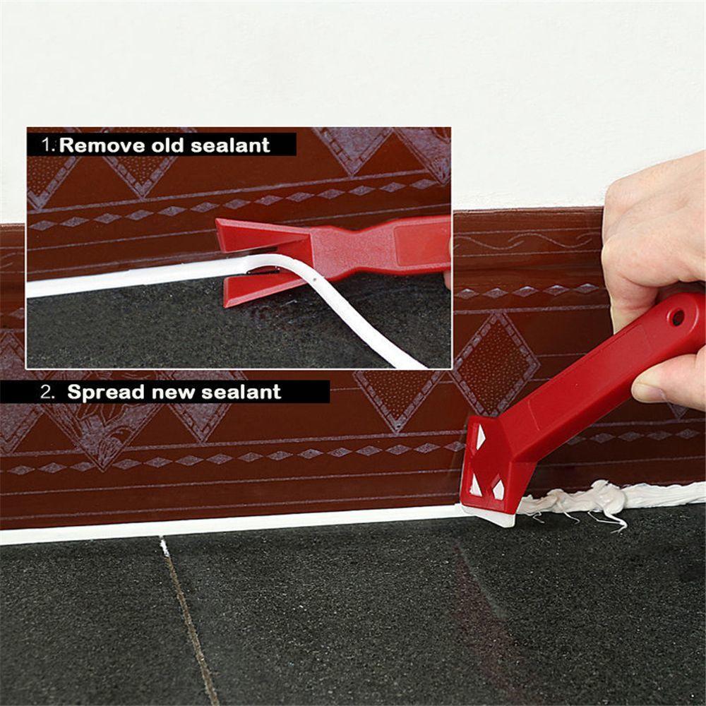 Caulking Finishing Sealant Grout Remover Spreader Spatula Glass Cement Scraper