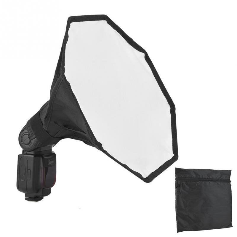 Flash Diffuser Universal Flash Diffuser Strong and Durable Mini Portable Softbox Diffuser for Flash Speedlite Speedlight