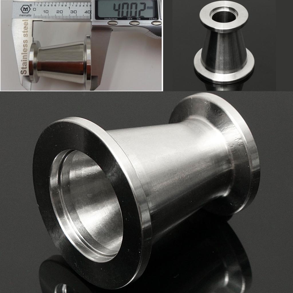 KF16 Tubo montaje roscado hembra sanitario 1//8 PT a TRI CLAMP Od 30mm Virola