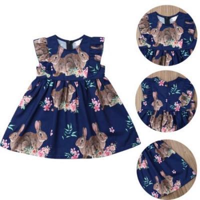 Princess Dress Kids Baby Girls Tassel Dot Skirt Casual Summer Party Clothes