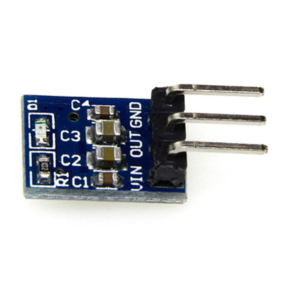 Dc 5v To 33v Step Down Power Supply Module Ams1117 33 Ldo 800ma Voltage Converter With Transistor Bc337 1 Of 6