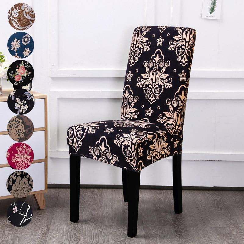 Ceremony Dining Chair Covers Set of 1//2//4//6 Removable Washable Spandex Slipcovers for Dining Room Hotel Kitchen