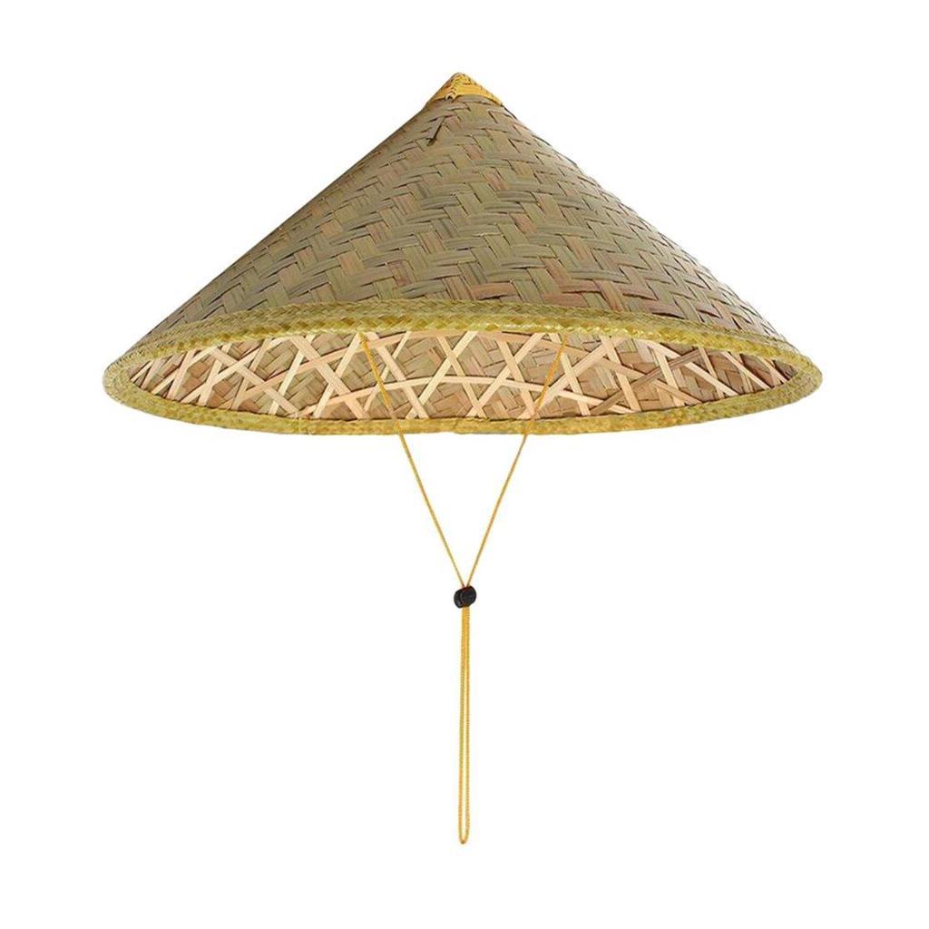 Sombrero chino bambú sombrero de paja turismo granjero pesca ...