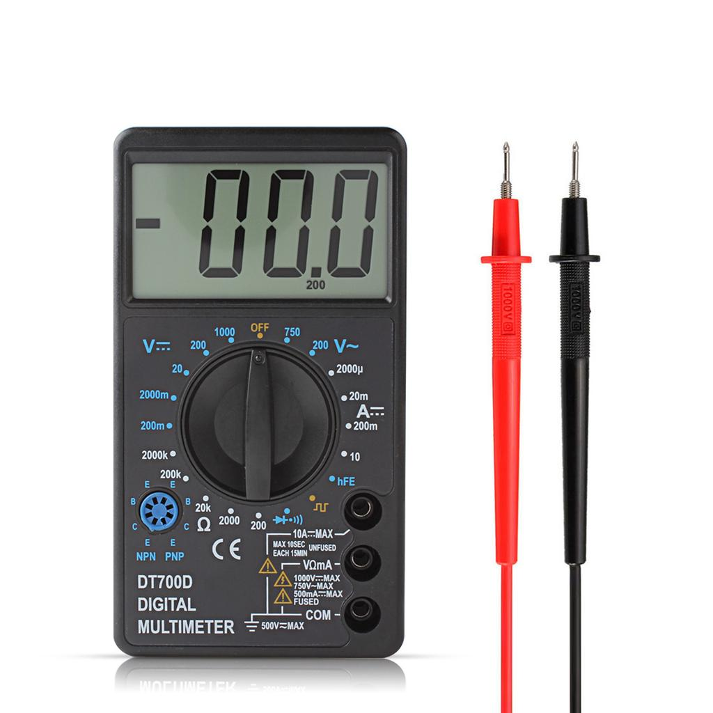1 PC de poche MF-110a Ohmmètre Voltmètre analogique multimètre testeur Instrument NOIR