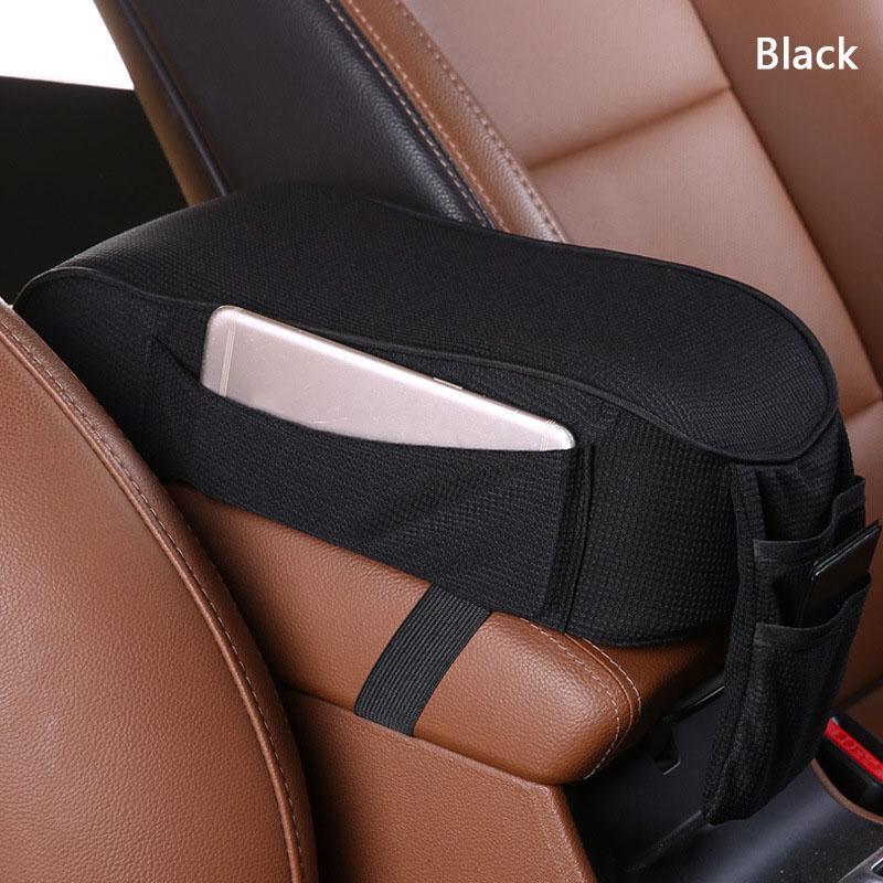 US Universal Car Center Console Armrest Pad Soft Cover Arm Rest Protective Case