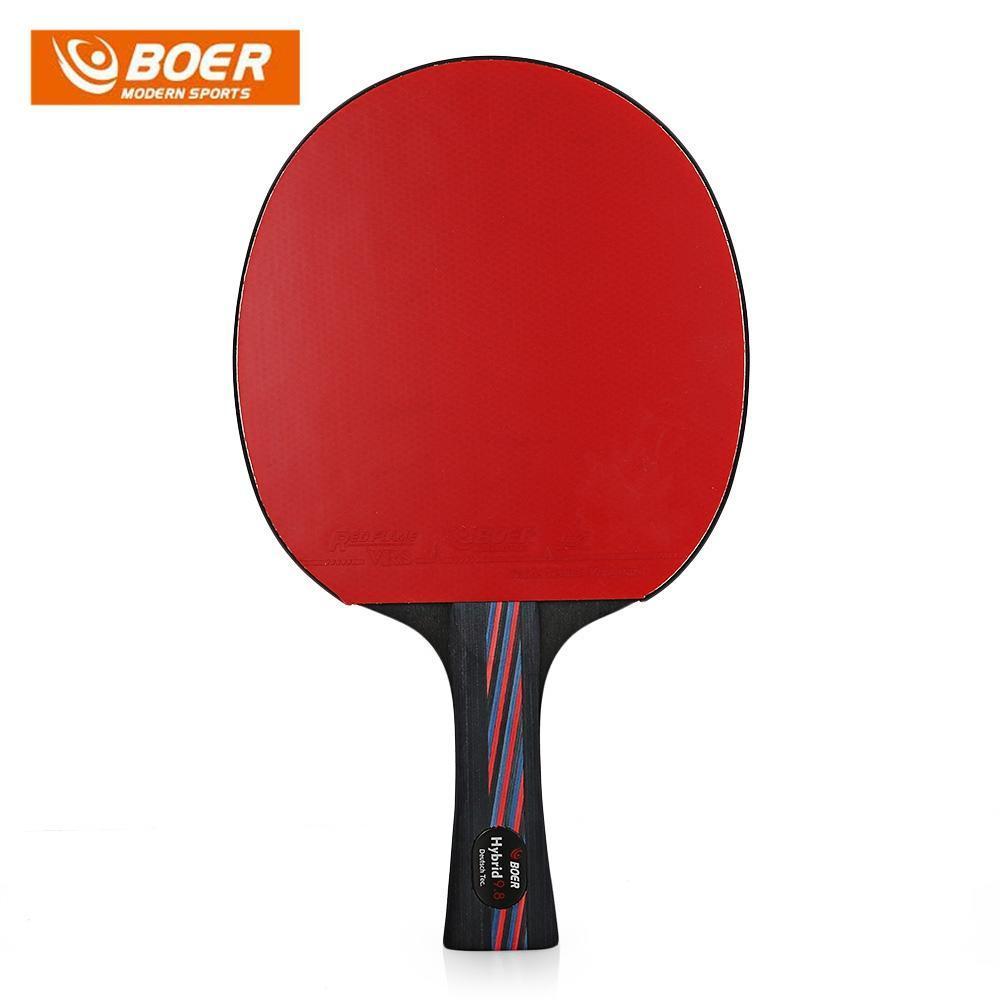 930defc89 Dos BÔERES leve tênis de mesa Ping Pong raquete Paddle-comprar a ...