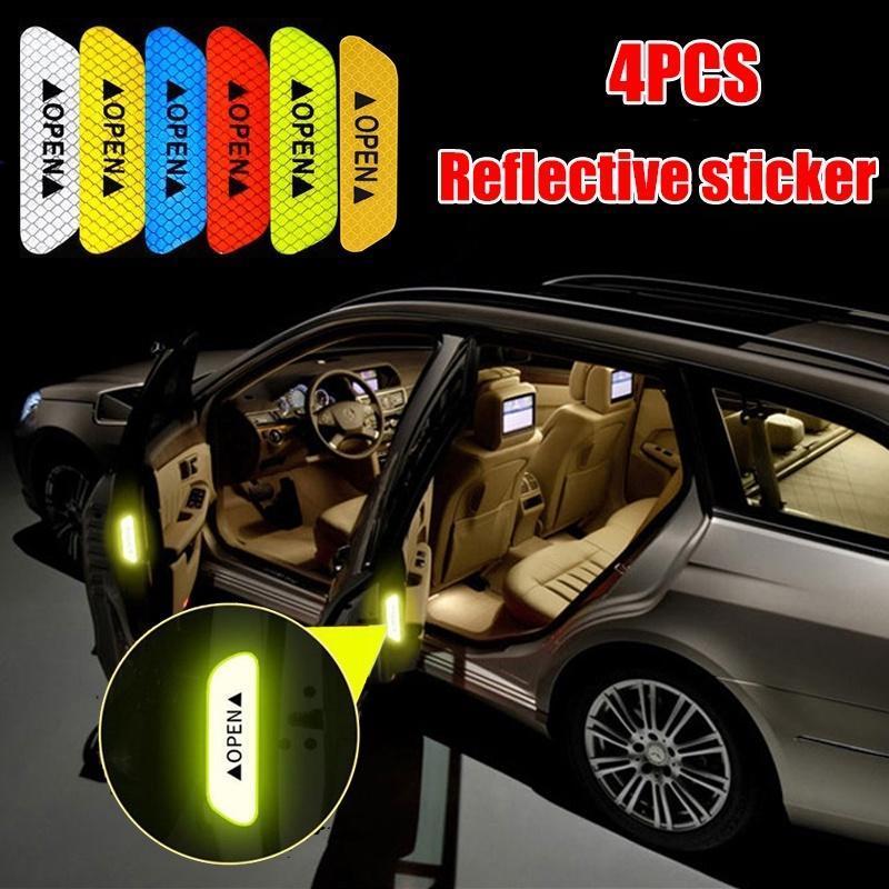 Accessories Safety Mark Car Stickers PET Supplies Waterproof Door Car Exterior