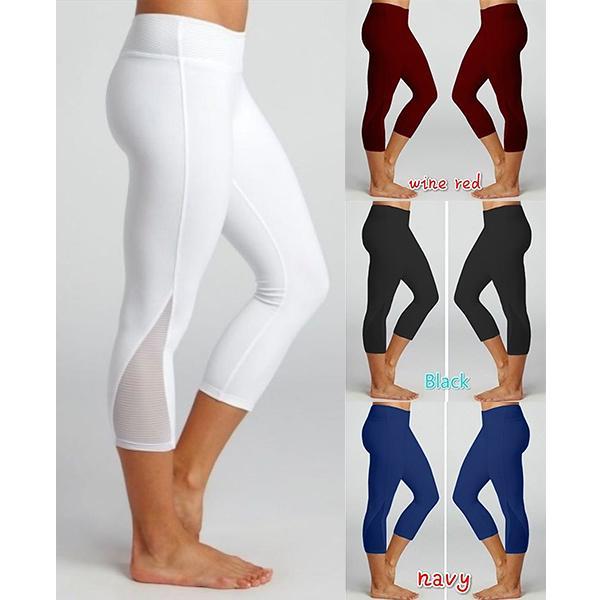 Женщины high Waist тренировки йога Leggings Случайный Леди Фитнес Тренажерный зал Leggings Брюки случайные брюки – купить по низким ценам в интернет-магазине Joom