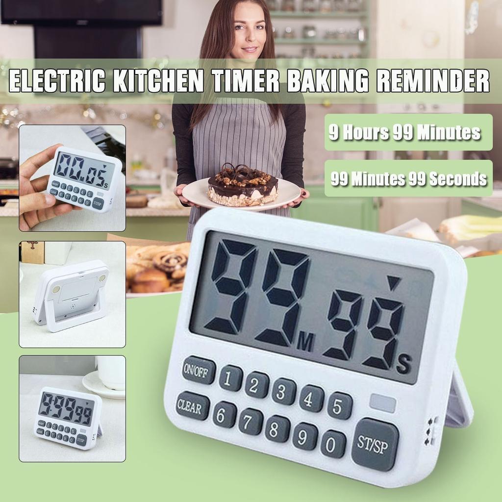 Cooking Digital Timer Kitchen Time Countdown Alarm Clock Baking Tool