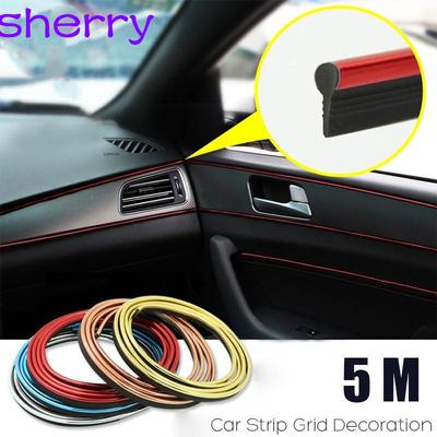 Car Accessories PU Auto Parts Carbon Fiber Non-slip Door Sill Welcome Pedal Decorative Wear-resistant Scratch-resistant