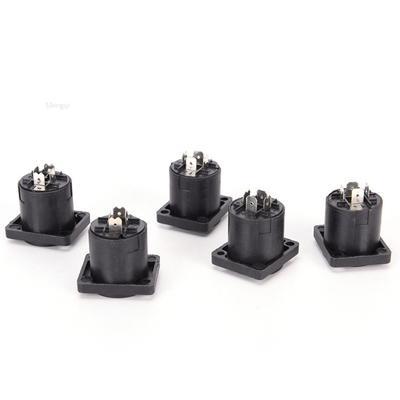 1000pcs Speakon 4 Pin Female Jack Compatible Audio Cable Panel Socket