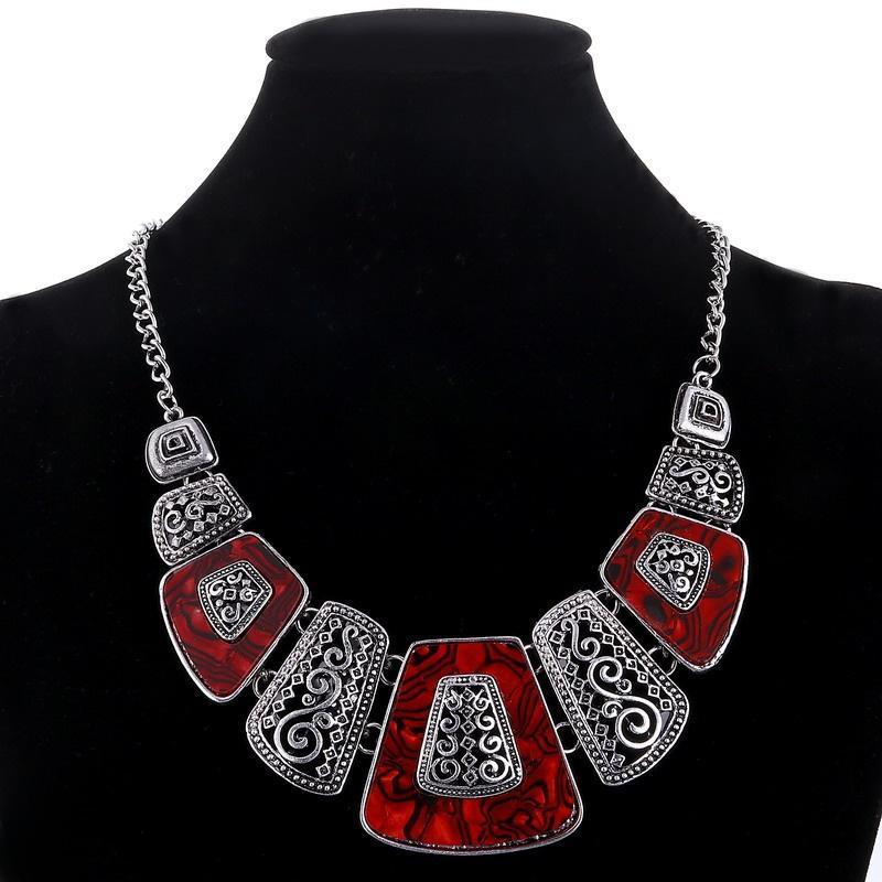 2 цвет колье женщин старинные ожерелья ювелирные изделия фото