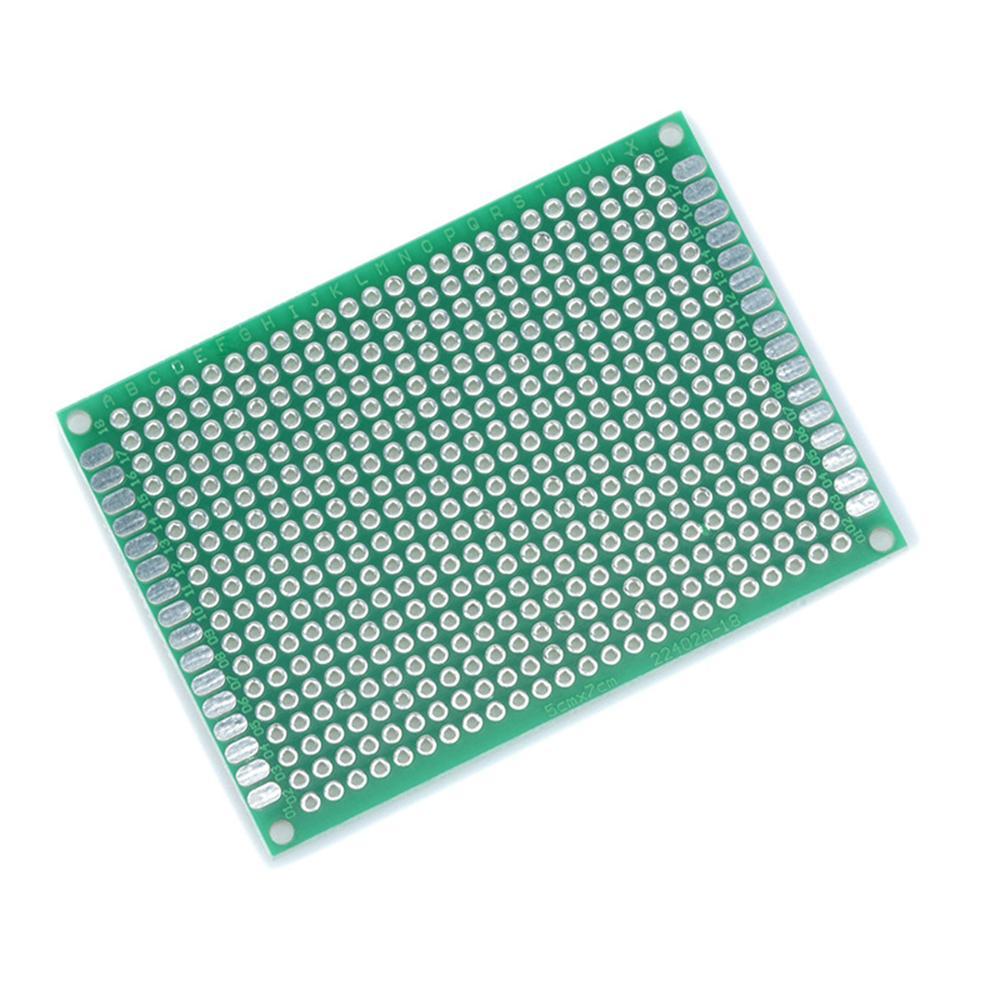 5Pcs 5 x 7 cm DIY Prototype Paper PCB  Universal Board prototyping pcb kit