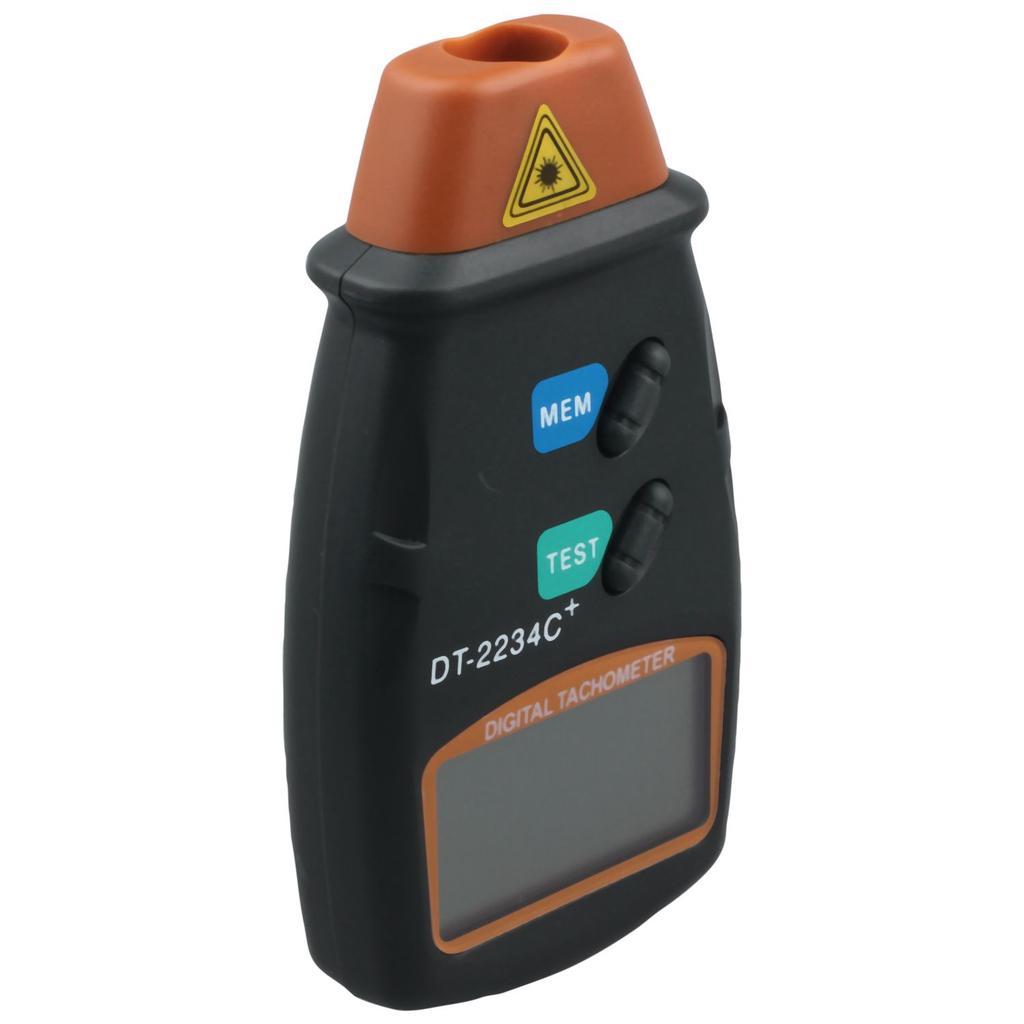 2 in 1 Contact /& Non-contact Digital Laser Tachometer RPM Meter Speed Gauge
