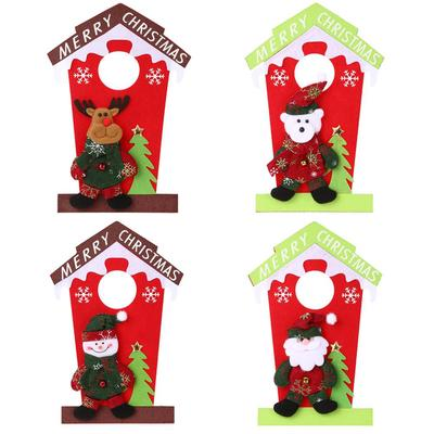 Santa Claus Snowman Christmas Hanging Door Decor Pendant For Home Buy At A Low Prices On Joom E Commerce Platform