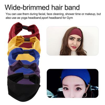 Pixnor Unisex Winter Headband Ear Warmer Ear Muff Hairband Running Black