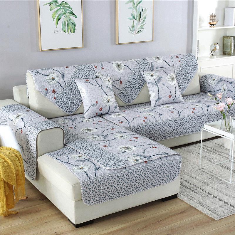 Fl Printing Cloth Sofa Cover, Slip Cover Sofas