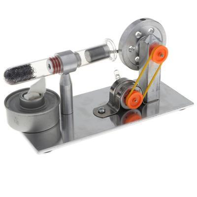 b0ebfa17187 Motor de Stirling colorido levou volante gerador de eletricidade brinquedo  educacional