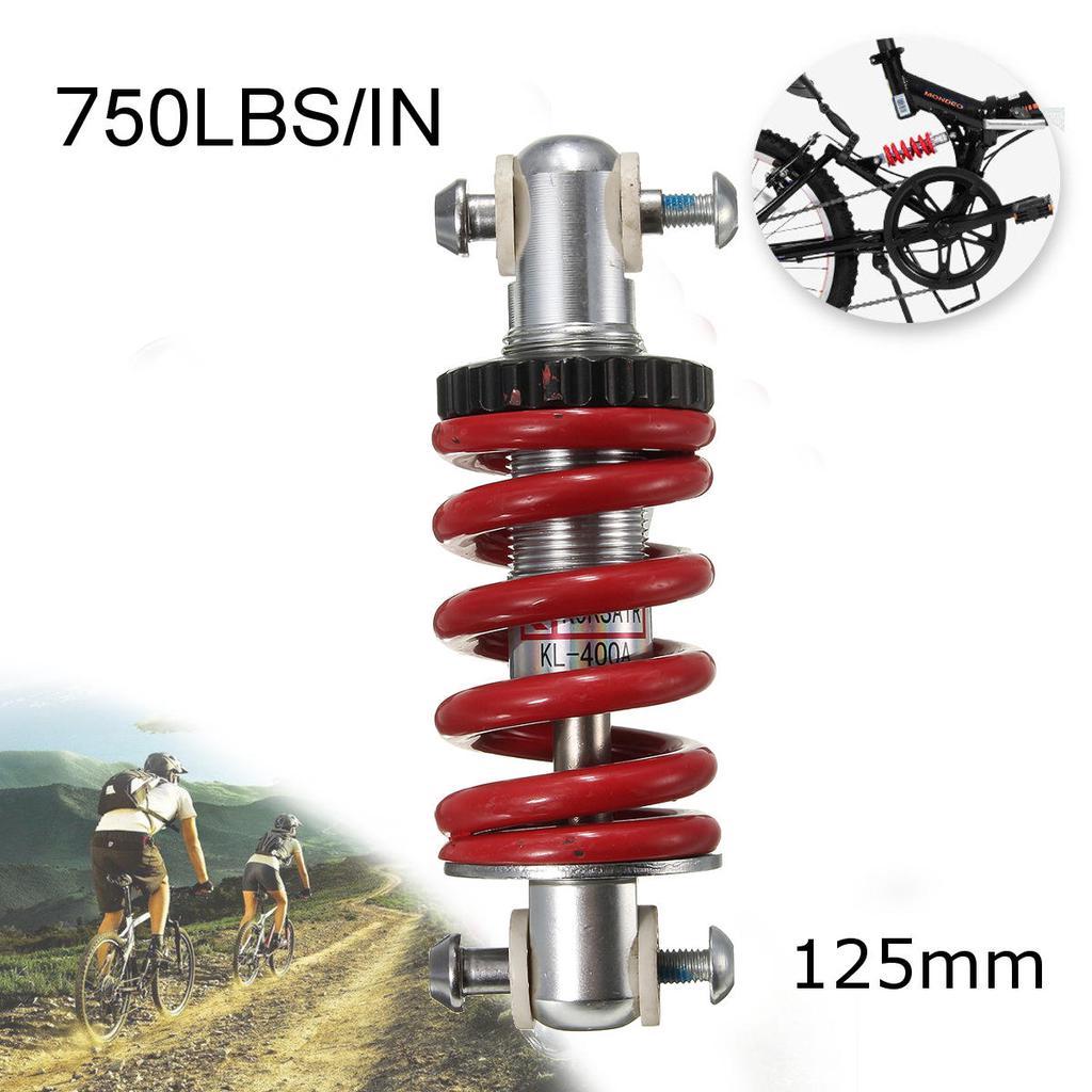 Durable 750LBS//in MTB Bicycle Rear Suspension Bike Spring Shock Damper Absorber
