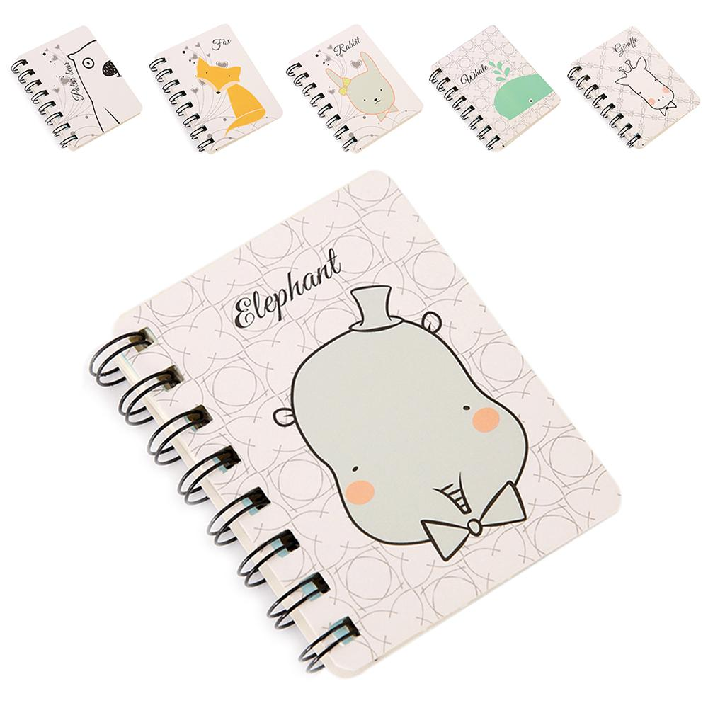 K Bound Notebooks Simple School Student Daily Weekly Planner Zoo Spiral Journal Notebook